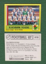 Blackburn Rovers Team 416